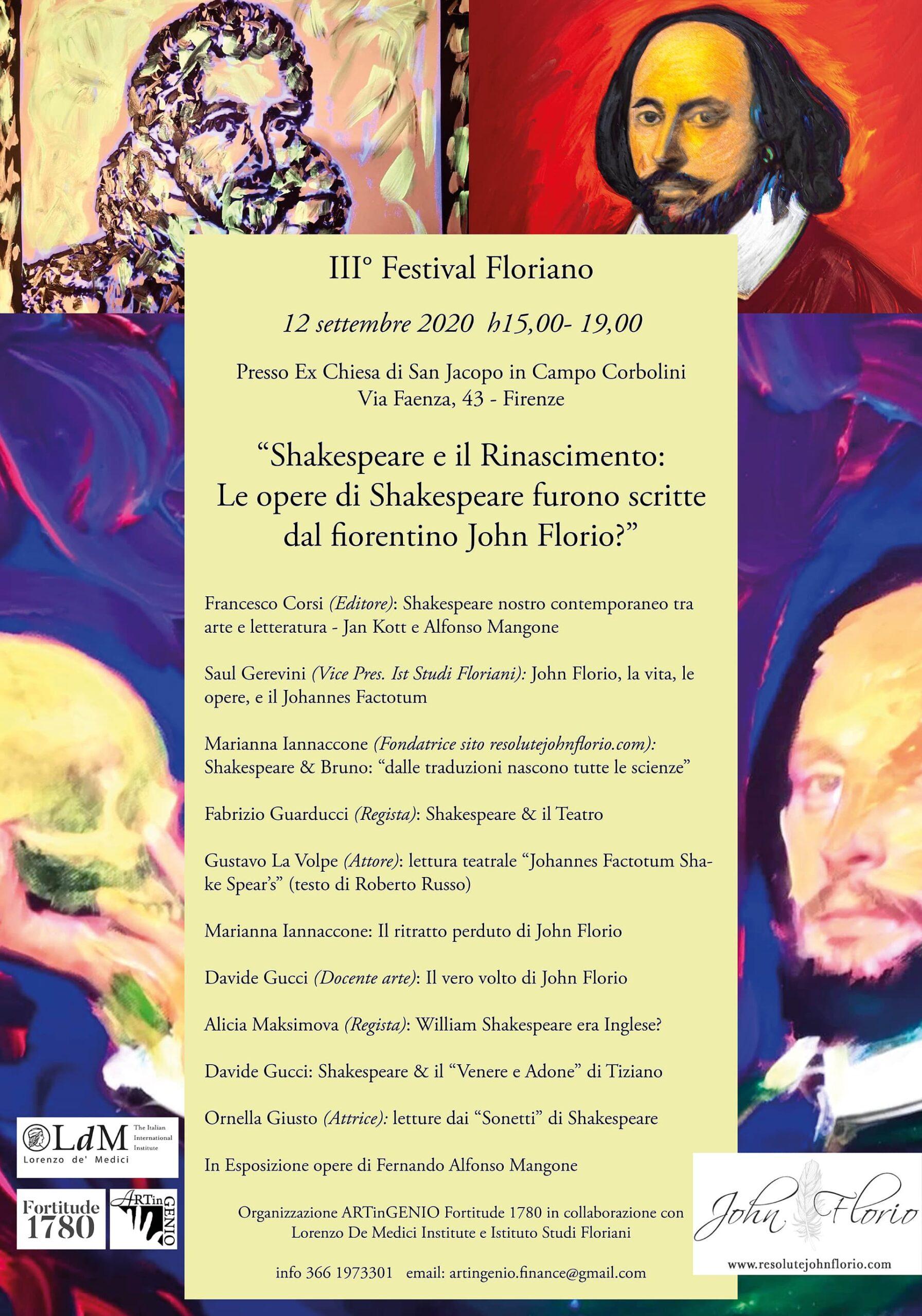Shakespeare e il Rinascimento: Le opere di Shakespeare furono scritte dal fiorentino John Florio?